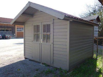Fremderzeugnis Gartenhaus