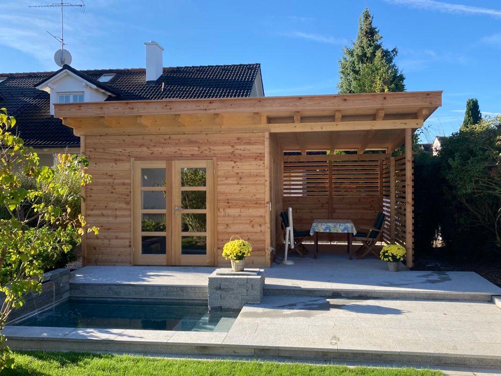 Holz Urban Egling Gartenhaus Saunahaus (7)